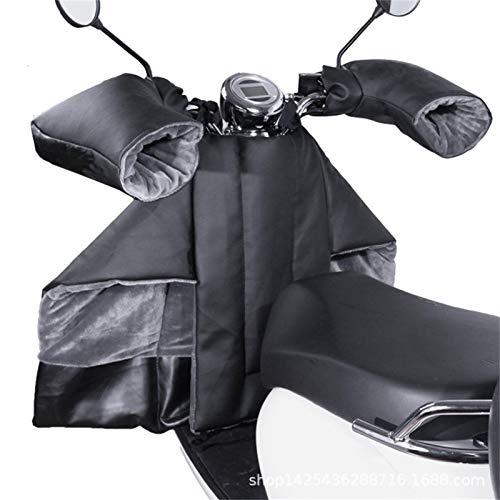 Motorrad Regenbekleidung Regenkombi Motorrad Beinschutz Für Motorroller Roller Regenschutz Wetterschutz Abdeck-Nässeschutz-Plane Beindecke Daunenbaumwolle