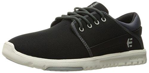 Etnies Herren Scout Sneaker, Schwarz (Black/Dark Grey), 39 EU