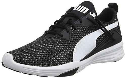 PUMA Aura XT, Zapatillas Deportivas para Interior para Hombre, Black White, 42 EU