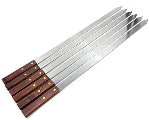 NPIL Utensils Skewers Stainless for Steel 67% OFF of fixed price Grilling Max 76% OFF Lon