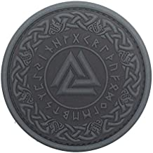 Viking Odin Valknut Morale Tactical PVC Rubber Patch
