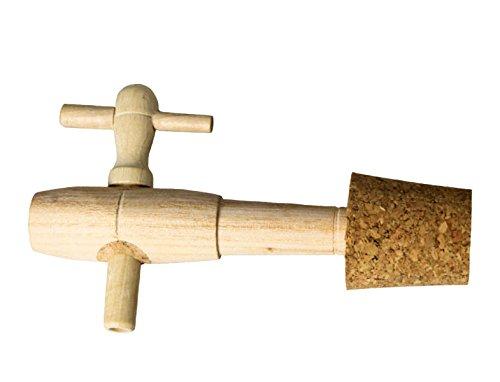 Bouchonnerie Jocondienne 507 Robinet Vinaigrier 4 P + Bonde Percée 32 x 11 x 10 mm
