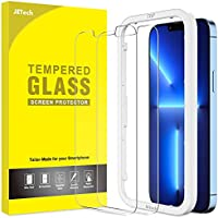 2-Pack JETech Screen Protector Compatible with iPhone 13 Pro Max 6.7 Inch