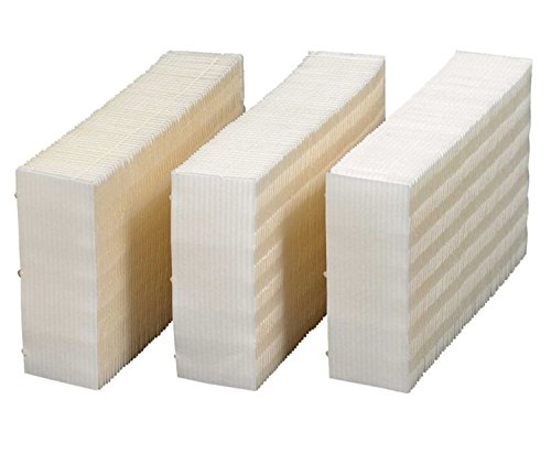 Eagleggo HDC311 Replacement Wicking Humidifier Filter, 3-Pack.