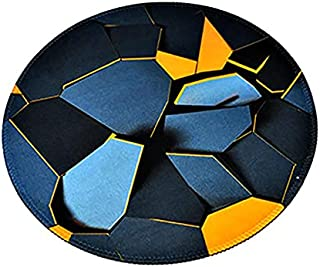 Printed Round Non Slip Rubber Mouse Pad 25x25x2mm