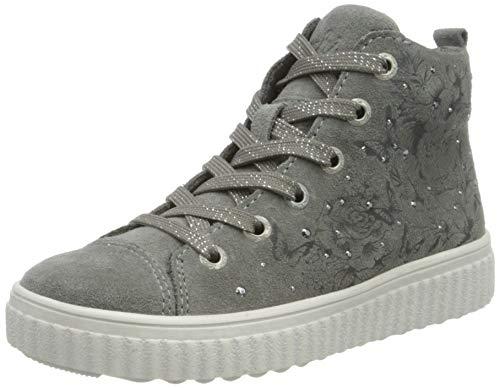 Lurchi Mädchen NAZOU Hohe Sneaker, Grau (Grey 25), 30 EU