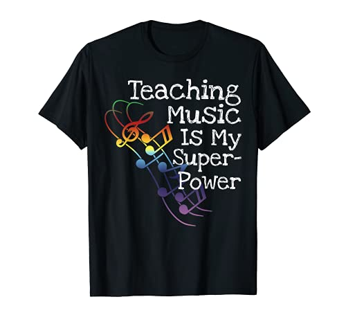 Camiseta de regalo para profesor de música Camiseta