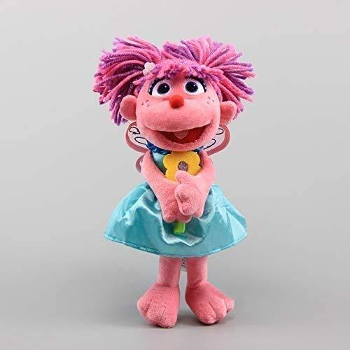 ADIE Plüschtier Sesamstraße Schöne Abby Catabby Plüsch Puppe, niedliche weiche Teddy Spielzeug Baby Pädagogische Puppen, Mädchen Geburtstag 12