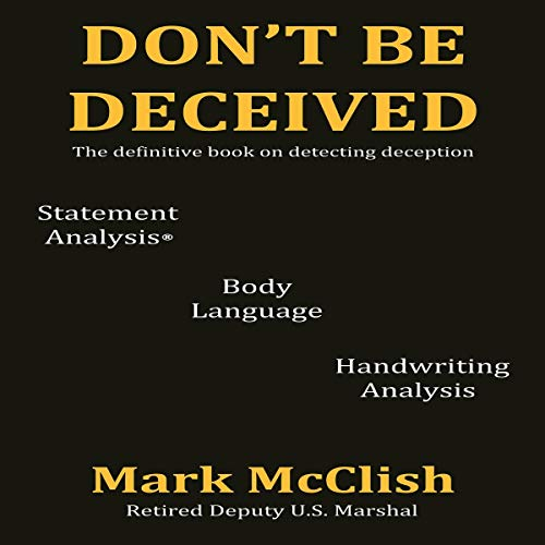 Don't Be Deceived Audiobook By Mark McClish cover art