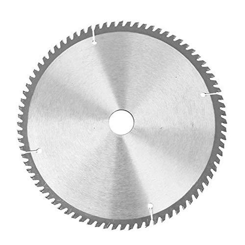 JINKEBIN Abrasivo de Las Sierras Circulares, Herramientas de 250mm 80T Acero de Alta Velocidad TCT Hoja de Sierra Circular de 30 mm Diámetro Hoja Kit for 255mm Sierras eléctricas
