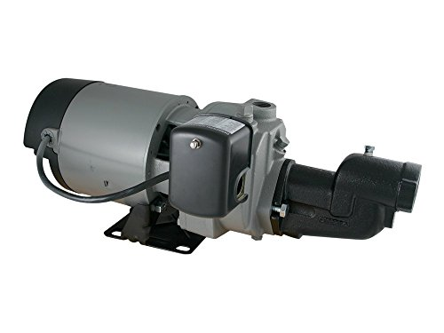 Star JHU15S High Pressure Shallow Well Jet Pump - Made in the USA (1.5 HP)