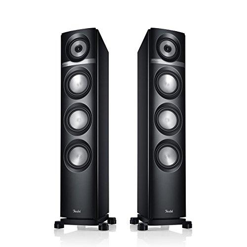 Teufel Definion 5 Schwarz Stand-Lautsprecher sound bassreflex 3-wege flac hifi Hochtöner Lautsprecher high end hifi speaker high end lautsprecher
