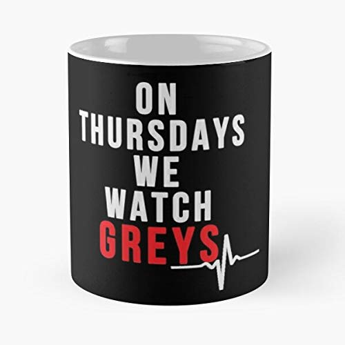 EpicwatchBands Antatomy Alex Mercy Seattle West Grace Greys Anatomy Karev Best 11 oz Kaffeebecher - Nespresso Tassen Kaffee Motive