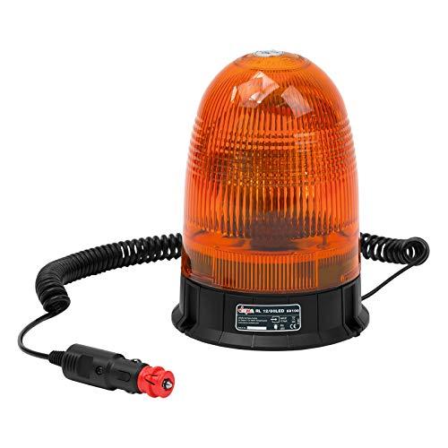 DEMA LED Rundumleuchte gelb 12V mit Magnetfuß