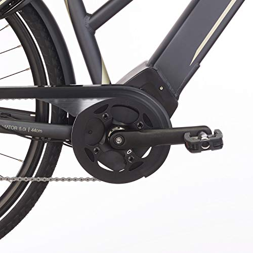 FISCHER Damen – E-Bike Trekking VIATOR 5.0i (2019), grau matt, 28″, RH 44 cm, Brose Mittelmotor 50 Nm, 36V Akku Bild 2*