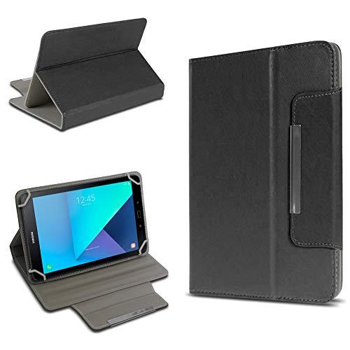 UC-Express Tablet Tasche kompatibel für Samsung Galaxy Tab Active 2 Hülle Tablet Schutzhülle Hülle Schutz Cover, Farben:Schwarz