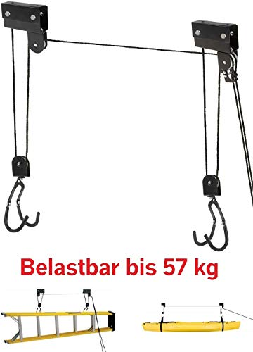 P4B bike bike lift XL STRONG - hasta 57 kg - para e-bike - mecánico negro