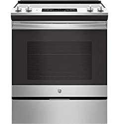 GE JS645SLSS 30 Inch Slide-in Electric Range