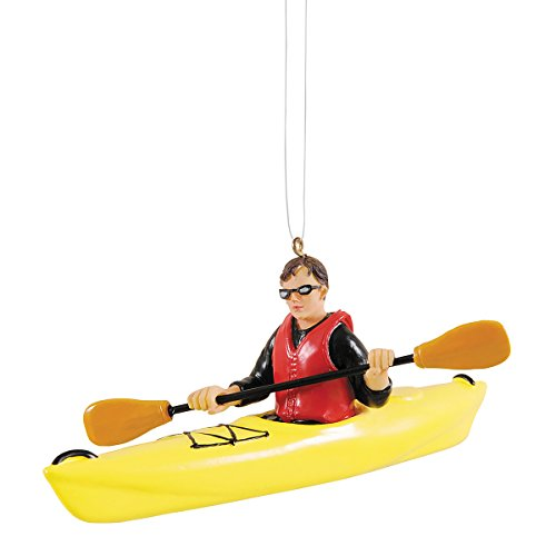 GALLERIE II Kayaking Christmas Xmas Ornament Multi