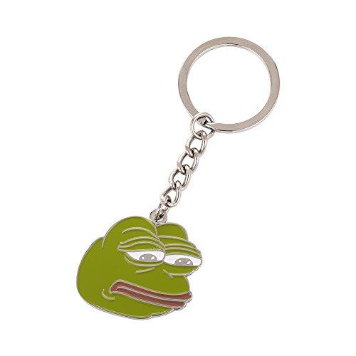 Internet Meme Pepe der Frosch Schlüsselanhänger