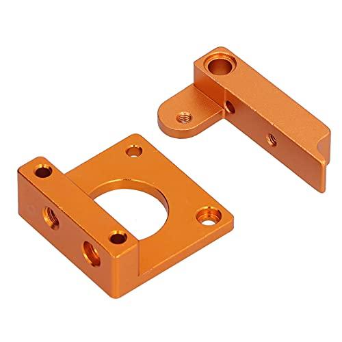 Suporte de extrusora, bocal único de bloco de liga de alumínio para impressora 3D para máquina de extrusão para MK8
