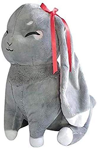 N-R Peluche de conejo de peluche de 35 cm, súper suave, muñeca masculina y femenina, cumpleaños, San Valentín, Halloween