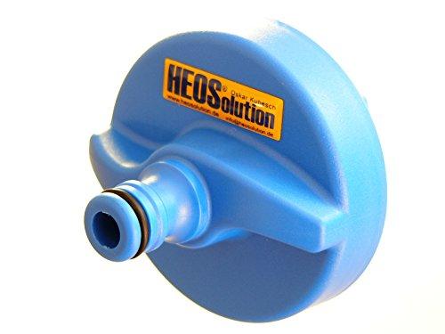 HEOSwater Wassertankkappe mit Schlauchanschluss zum schnellen Reinigen Befüllen Ihres Wohnmobil-Wassertanks Wohnwagen Wassertank Für Wassertanks mit Überlauf.