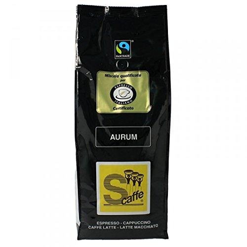 Schreyögg Espresso Kaffee - AURUM - Fairtrade 1000g Bohnen