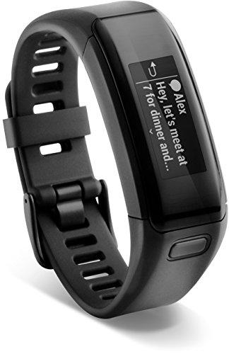Garmin vívosmart HR Fitness-Tracker – integrierte Herzfrequenzmessung am Handgelenk, Smart Notifications, Schwarz, M – L (13,7-18,8 cm) - 13