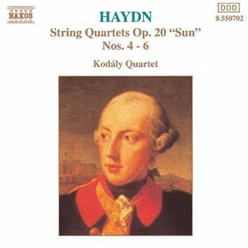 HAYDN: String Quartets Nos. 23, 24 and 27, 'Sun Quartets'