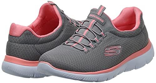 Skechers Damen Summits Sneaker, Grau - 7