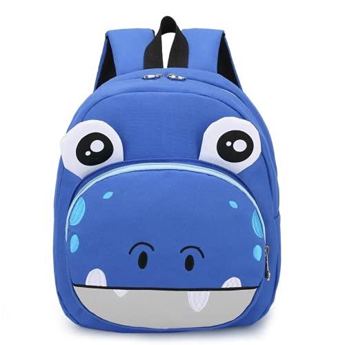 Mochila escolar de jardín de infantes para niños, animales de dibujos animados, niños y niñas, mochila de jardín de infantes para bebés, mochila escolar (6,31 * 29 * 13cm)