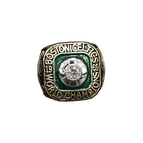 WSTYY 1969 NBA Basketball Boston Celtics Championship Ring, Champions Anello di Replica Commemorativi da Uomo,Without Box,11#