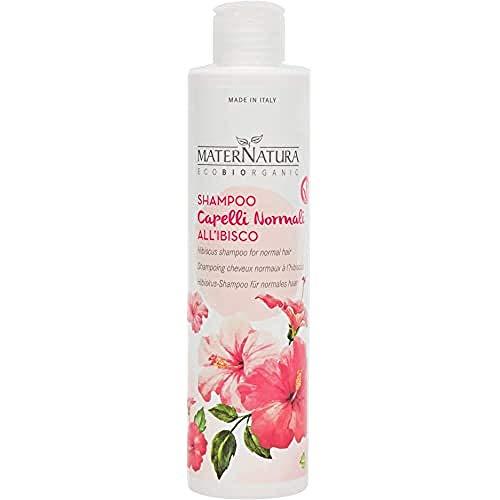 Maternatura Shampoo Capelli Normali all'ibisco, Beauty Routine Capelli Normali - 250 Ml