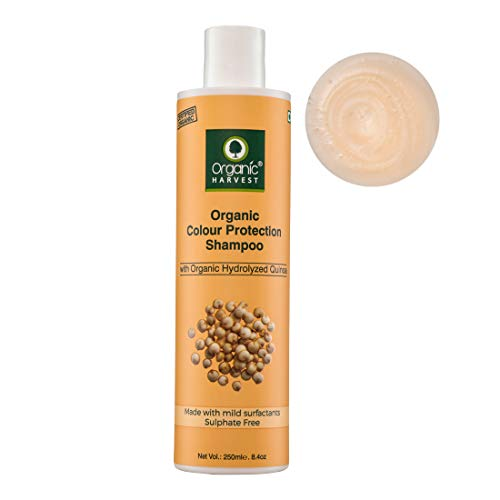 Organic Harvest Quinoa Shampoo For Color-Treated Hair, Ideal Color Care Shampoo, For All Hair Types, Paraben-Free 250 ml