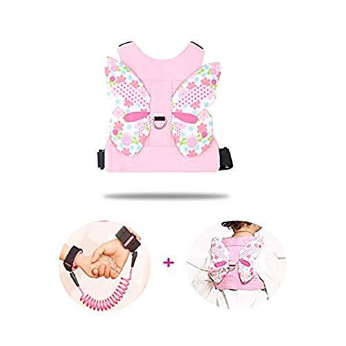 2 Pack Anti-verlorene Handgelenk Link Sicherheitsband mit 360 ° Rotation Leine Assistent für Kleinkind