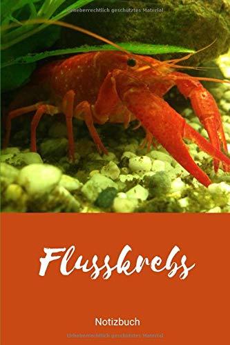 Notizbuch Flusskrebs: (Hugo 01) (Notizbücher Aquarium, Band 1)