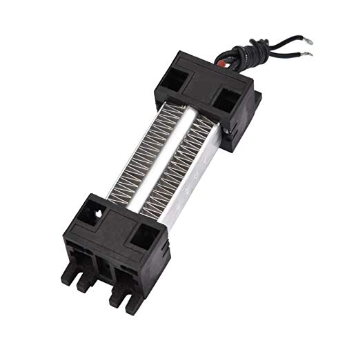 Emoshayoga Calentador de Aire de cerámica Elemento Calefactor Calentador de Aire de cerámica PTC con Orificios de Montaje Calentador eléctrico para Aire Acondicionado