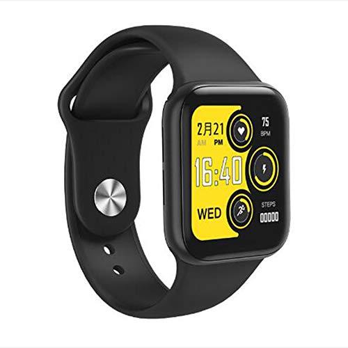 Bluetooth Reloj Inteligente,Monitor De Sueño Pulsera De Actividad Pressione Sanguigna Oxígeno En Sangre Pulsómetros Monitor Reloj De Contador De Pasos Impermeable Smart Watche Negro 1.5inch