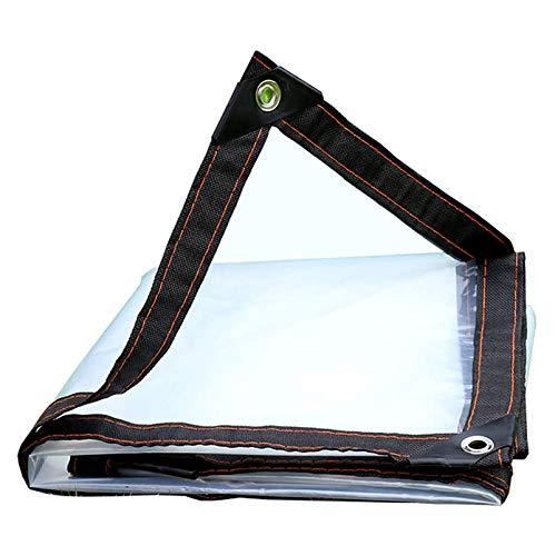 ZHANGYUQI Lona Impermeable para Muebles De Patio Al Aire Libre, Antienvejecimiento, Resistente Al Desgarro, Ideal para Carpa con Toldo De Lona, Barco(Color:Claro,Size:3x3m)