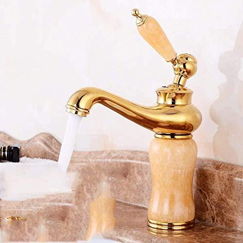 Mezclador de lavabo de cocina mezclador de fregadero cocina de cobre lavabo caliente y frío accesorios de baño grifo dorado grifo de cocina
