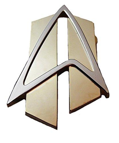 Main Street 24/7Erwachsene Star Trek Next Generation Pin Gold groß