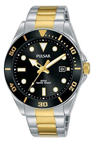 Seiko UK Limited - EU Pulsar Taucheruhr mit Edelstahl-Armband PG8295X1