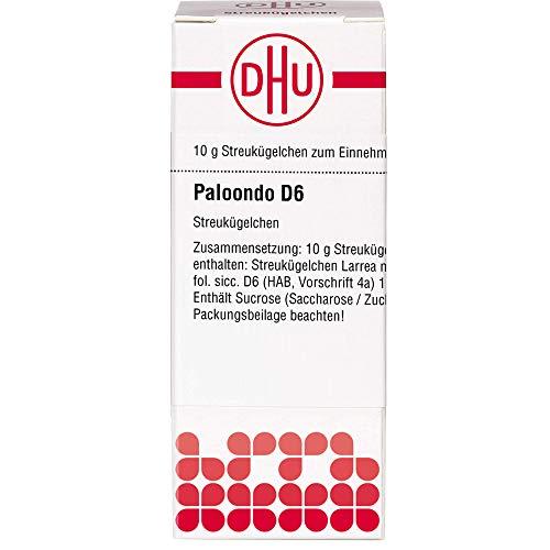 DHU Paloondo D6 Streukügelchen, 10 g Globuli