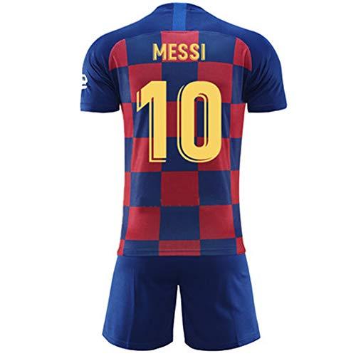 Fußball kits Trikot Set für 3-14Y Jungen Kinder Sport Kit Kurzarm Shirt Shorts