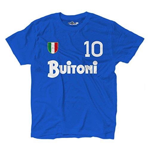 KiarenzaFD Vintage Football Crewneck Sweatshirt Diego Armando Napoli 10/Maradona Season 87/ /88