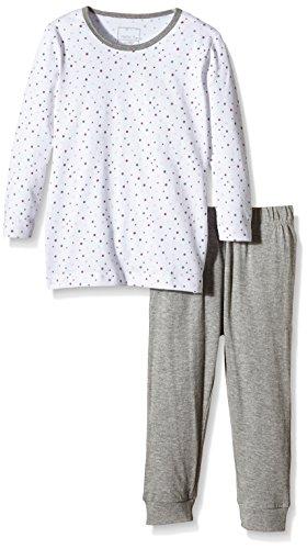 NAME IT NAME IT Baby-Mädchen NITNIGHTSET M G NOOS Zweiteiliger Schlafanzug, Mehrfarbig (Bright White), 92