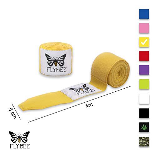 Flybee 4m Boxbandagen Elastisch, Gelb