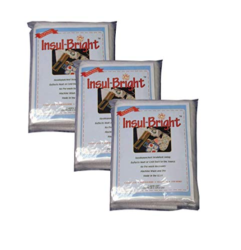 Insul-Bright Insulated Lining-36'x45' sku# 645509MA, set of 3