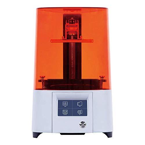 UWY 3D-Drucker, verbesserter Harz-SLA-3D-Drucker mit hochauflösender 2K-Parallel-LED-Beleuchtung, 4,72'x 2,68' x 6,69'große Druckgröße, Vollmetallgehäuse